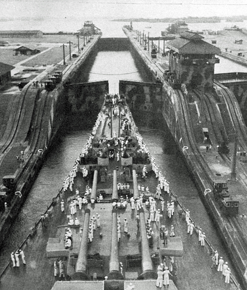 014 Through the Panama Canal