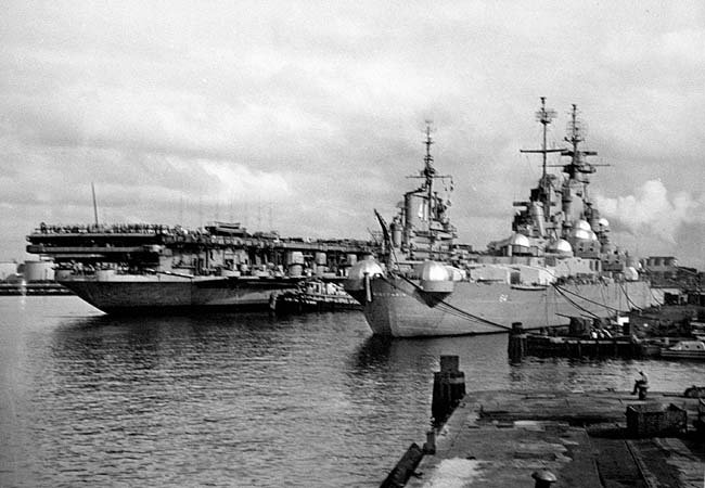 312 USS Midway and Wisconsin 1