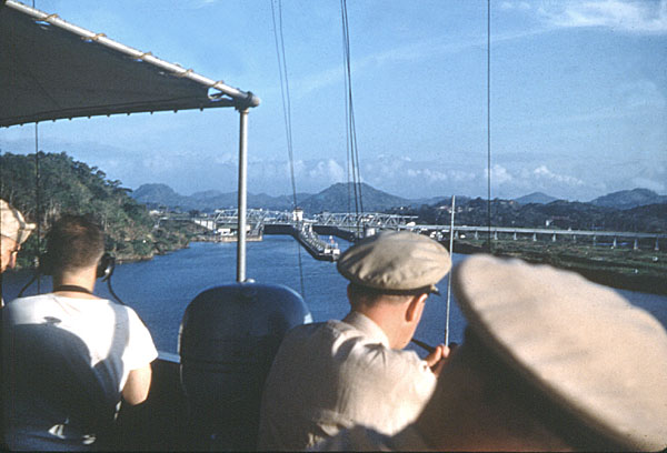 248 HL Green Entering Panama Canal