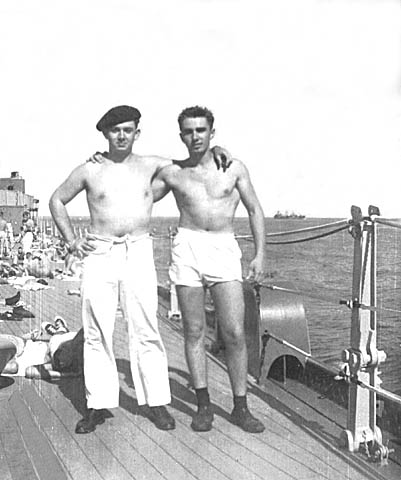 413 Ouigg Lawrence  on right 1954