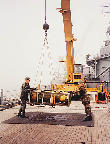 208 M. Bowers  Weapons on load