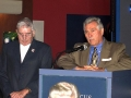 203 Bill and Carl Capestrain,past President of USS Wisconsin Association