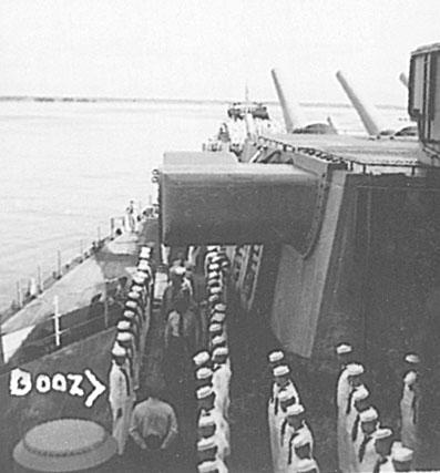 096 Admirals inspection G.Booz