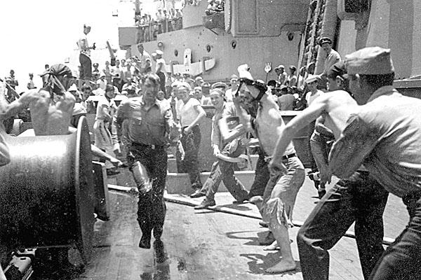 112 H.A.Sirigos Crossing the Equator Oct. 27,1946 8