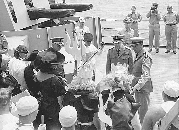 113 H.A.Sirigos Crossing the Equator Oct. 27,1946 7