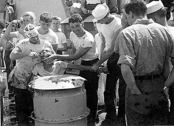 115 H.A.Sirigos Crossing the Equator Oct. 27,1946 5