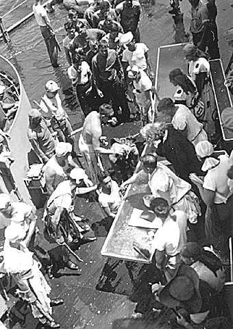 116 H.A.Sirigos Crossing the Equator Oct. 27,1946 4