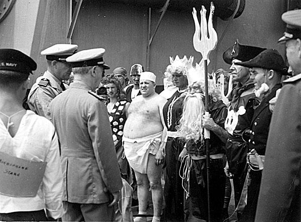 118 H.A.Sirigos Crossing the Equator Oct. 27,1946 2