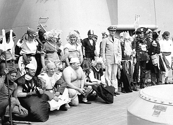 119 H.A.Sirigos Crossing the Equator Oct. 27,1946 1