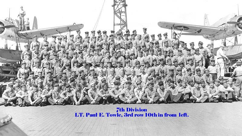 151 Paul E.Towle 7th Div Photo 1944-1945