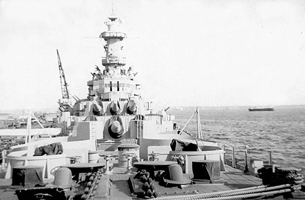 174 J. Blake  Forward 16in. Gun Turrets