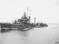 185  J. Blake  Destroyer coming along side