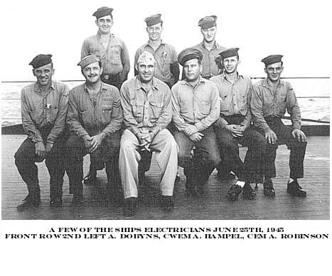 200  A.Dobyns 1944-45 Group Photo