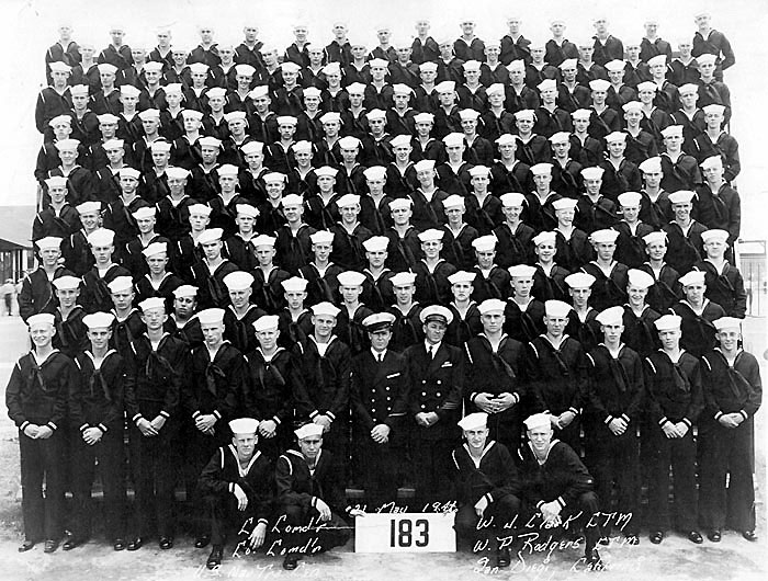 228 H. Stoops Boot Camp Photo 1946