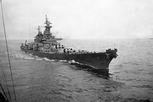 266 USS Missouri May 1946