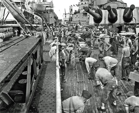 380 Provisions at sea