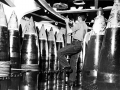 435 US Navy Photo 16in. projectile flat.