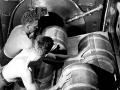 437 US Navy Photo Loading powder bags into 16in gun