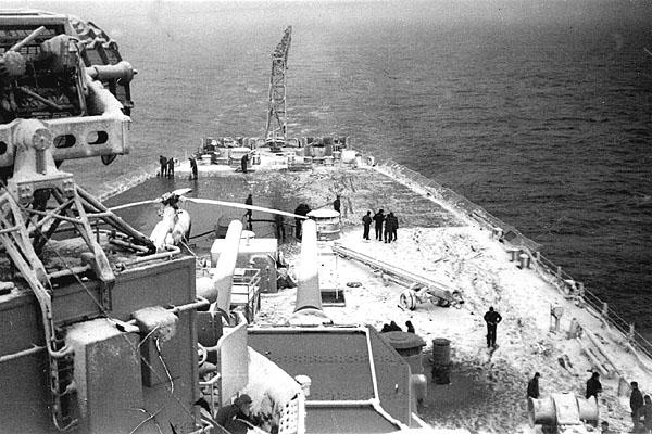 121 Off Korea Jan 1952