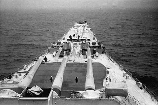 122 Off Korea Jan 1952
