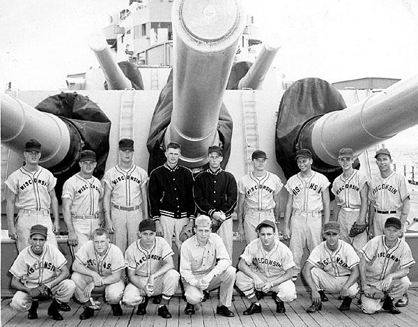 136 Ships baseball team 1956