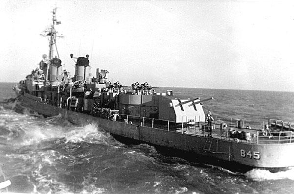 148 Refueling DD845