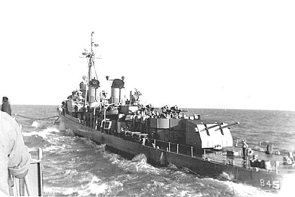 150 Refueling DD845