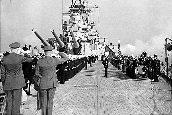 160 Change of command  ceremonies- Japan 1953