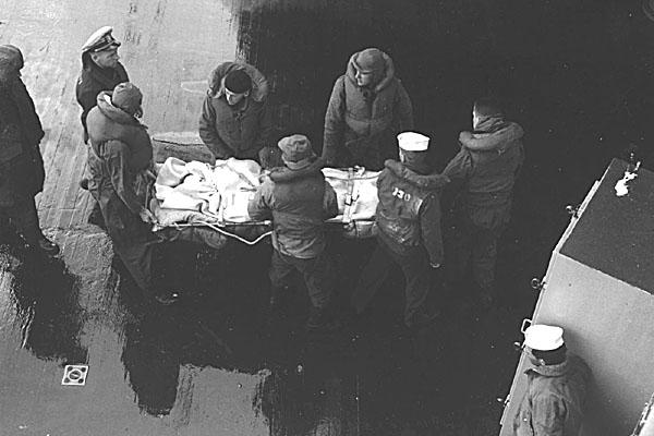 182 Injured North Korean prisoner Feb.1952