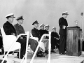 159 VADM Clark is relieved by VADM Pride-Japan 1953