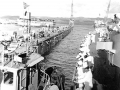 162 Floating dry dock in Guam 1952