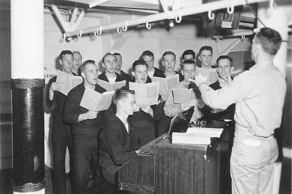 216  J.G.Donaldson-Ships Choir