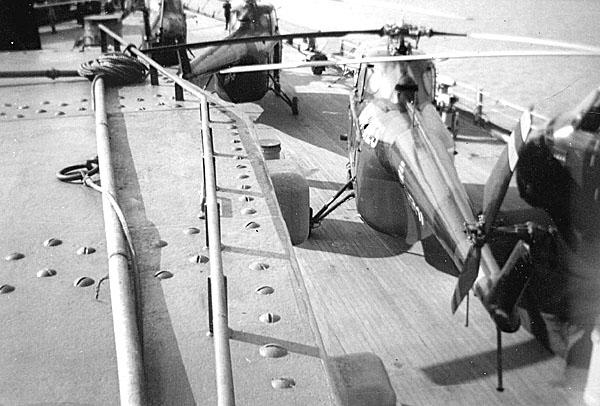 230 D.A.Davis  Helicoptors on board