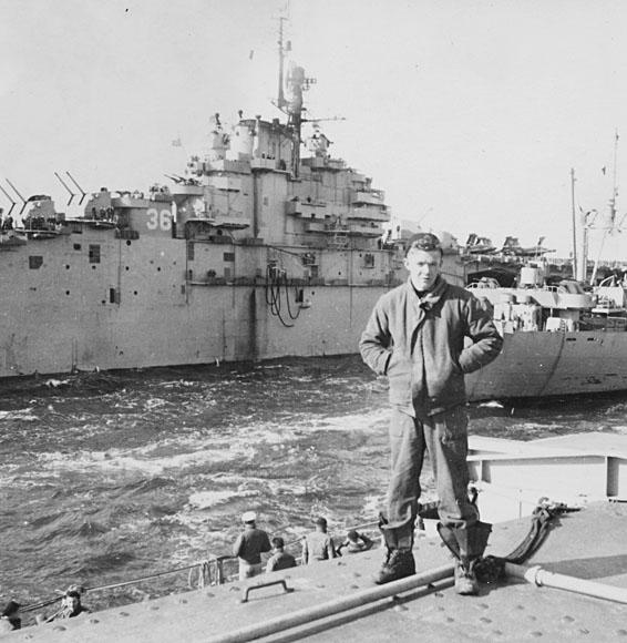 316 K.Sampey  USS Antietam (CV-36)