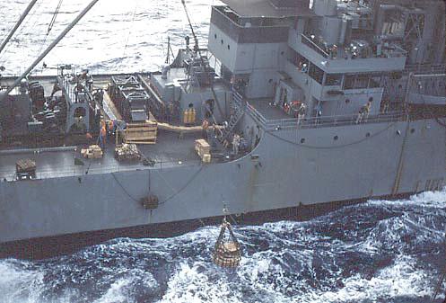 367 R.Klotz  Resupply-USS Aldebarren