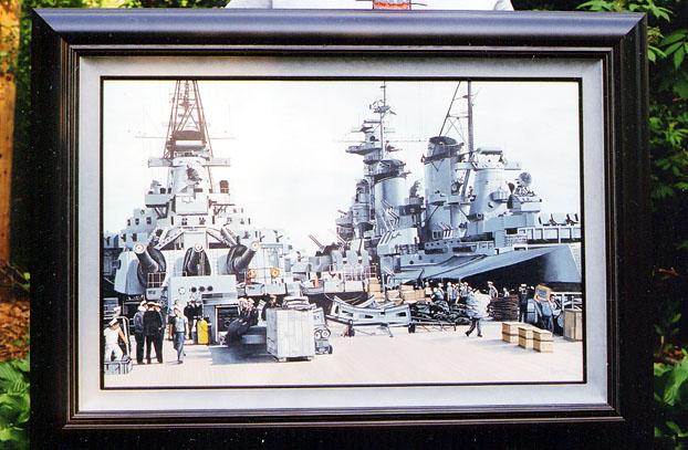 373 C.Vang Framed Painting