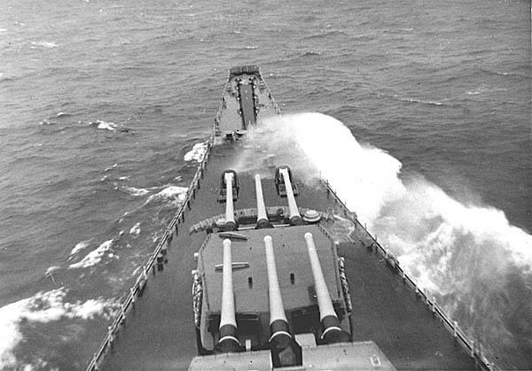 391 S. Young Ship At Sea