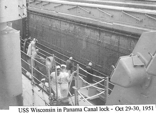 519 D. Wilson 10-29-51 Panama Canal Lock  b