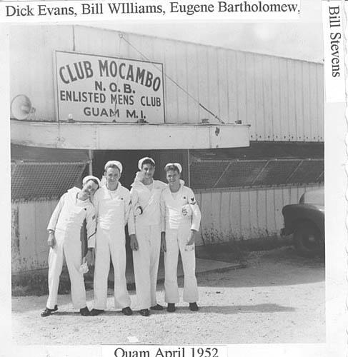 531 D. Wilson 04-52 Guam Dick, Bill, Eugene, Bill