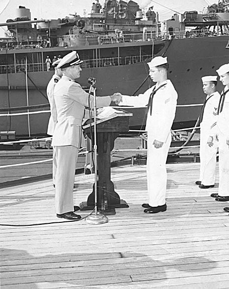 542  D. Weldon Receiving diploma 08-56