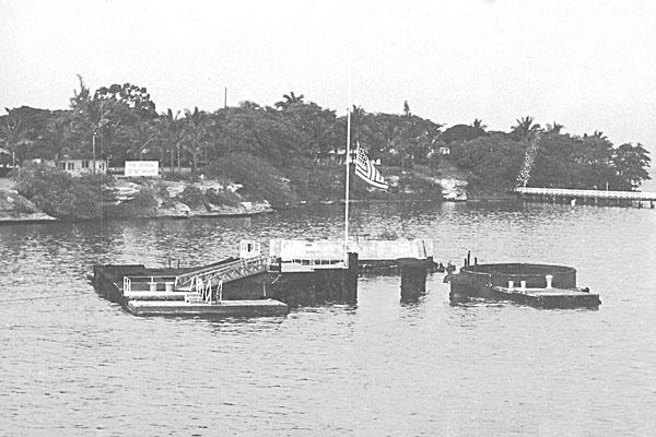 744 USS ARIZONA BB-39 09-30-53