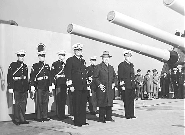 753  ADM Clark Pres. S. Rhee Capt. Flaherty
