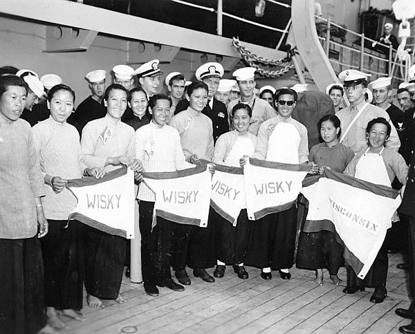 758 Mary Soo's girls Hong Kong Dec.1953