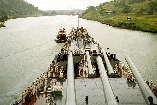 864 D Menta Panama Canal Sept. 1953