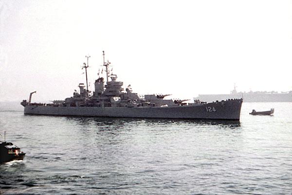 872 D Menta USS Rochester 4-1-54