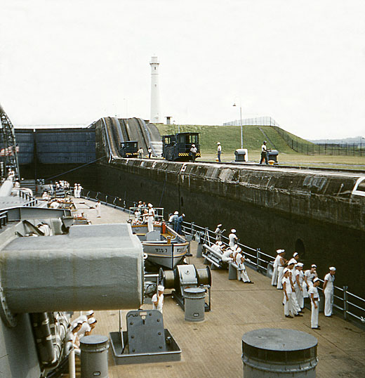 874 D Menta Panama Canal 4-23-54