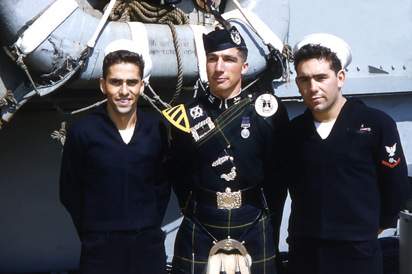 931 Carl Tagliaferro, Gordon Highlander, Lou Sinagra 1954