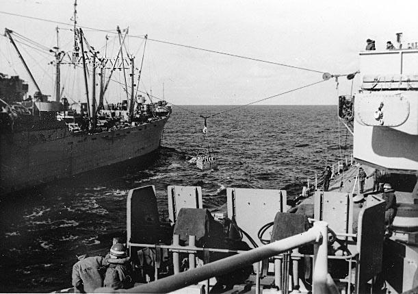 935 Brownlee,J. USS Rainier AE-5 Underway Repleenishment.