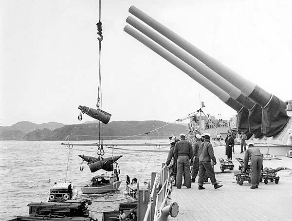 967  Nowacki, T. Loading 16in. projectiles
