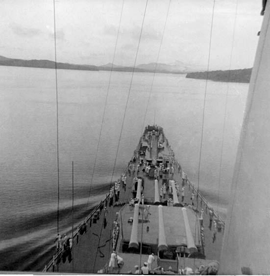 1063 Fresh Water Lake Panama Canal 1957